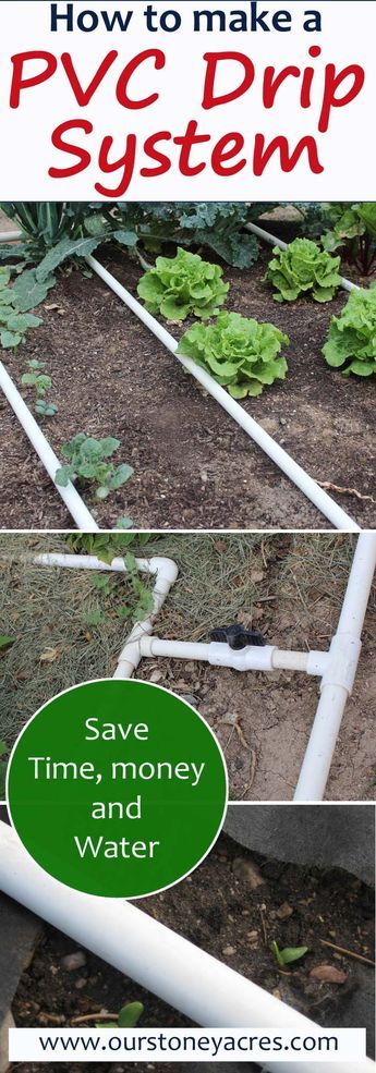 PVC Drip Irrigation System for your garden