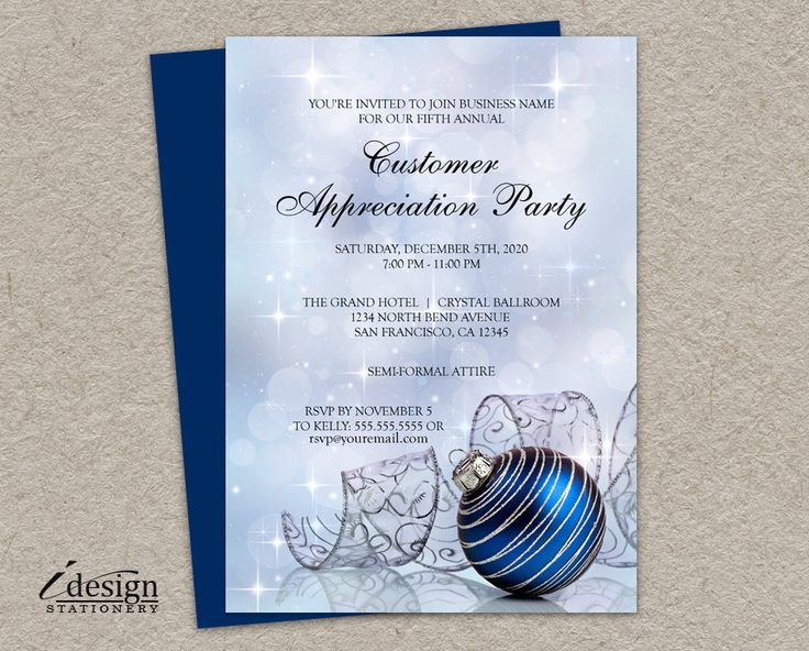 32 best Christmas And Holiday Party Flyers images on Pinterest - holiday party flyer template