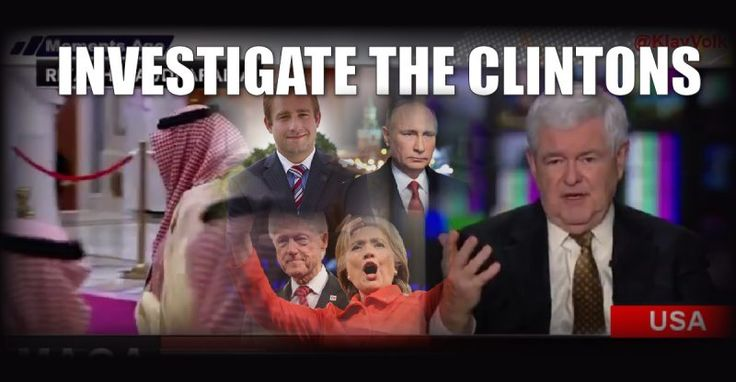 Watch Newt DEMAND an Investigation into Clinton Corruption and Seth Rich – TruthFeed