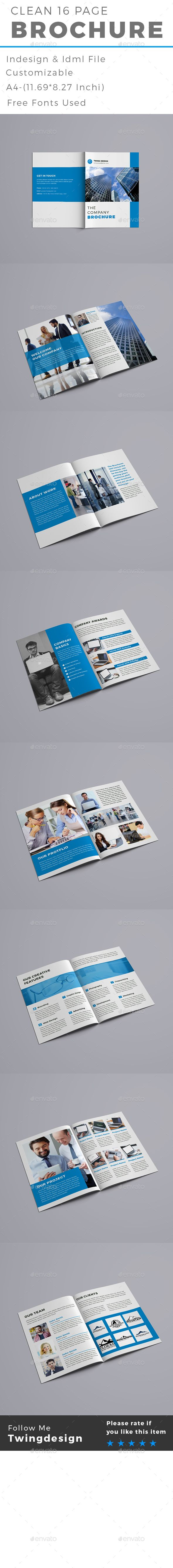 #Brochure - #Brochures #Print #Templates. This is Creative Company Brochure, perfect for use any kind of Corporate. You can edit easily this Brochure, It's 100% customizable, All objects are resizable, with no quality loss,removable and editable. Specification