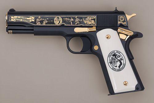 Colt m1911a1 45 pistol vietnam war 50th anniversay for Kommode 60 x 80