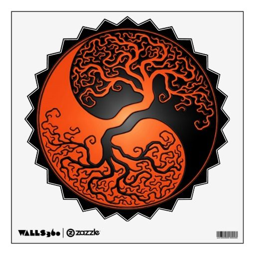 Tree yin yang...what I like about this design is how the two sides of the Taijitu blend into one another, suggesting fluidity and totality. The divisions are less apparent and the similarities are what matters. I prefer warm colours as opposed to cold....