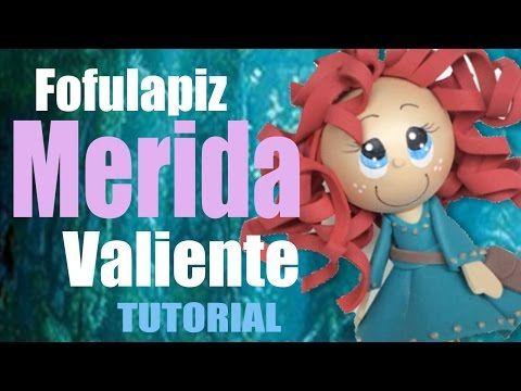 Como pintar cara para fofucha Elsa una aventura congelada - How to paint Elsa Frozen - YouTube