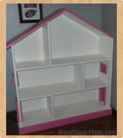 dollhouse bookcase woodworking plans | Furniture | Pinterest
