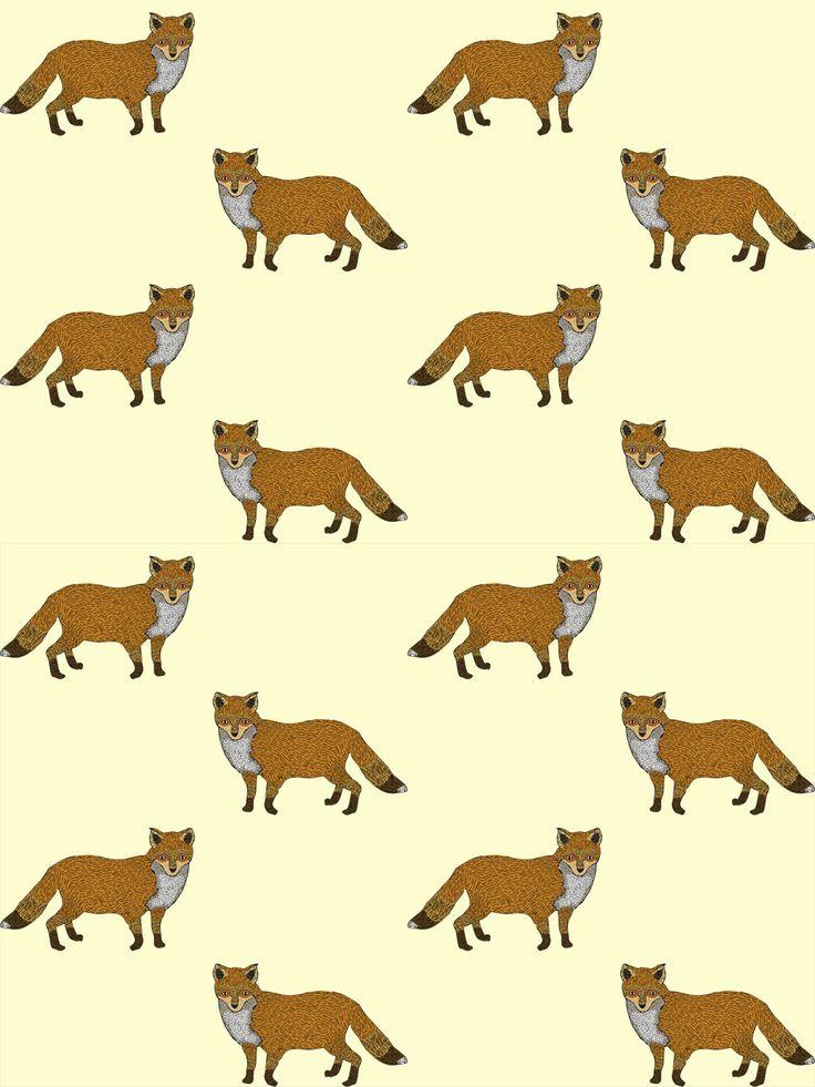 Fox Pattern By Pepitamendieta Underwear. #foxprint #fox Ilustration by: Natalia Bahamón