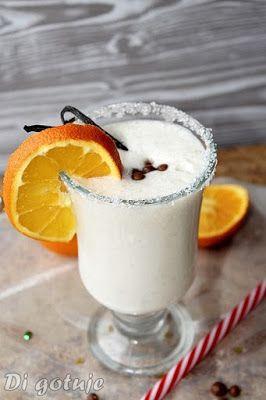 Di gotuje: Shake bananowy z lodami wanilowymi i pomarańczą