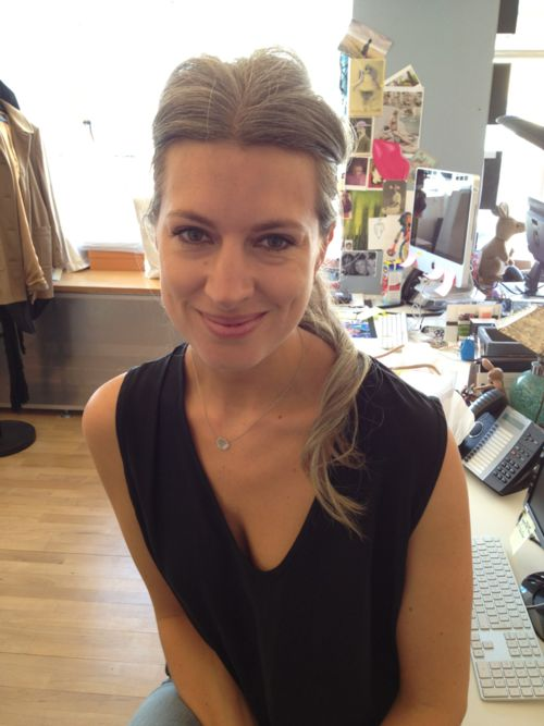 Sarah Harris could be my inspiration for how to go grey ...