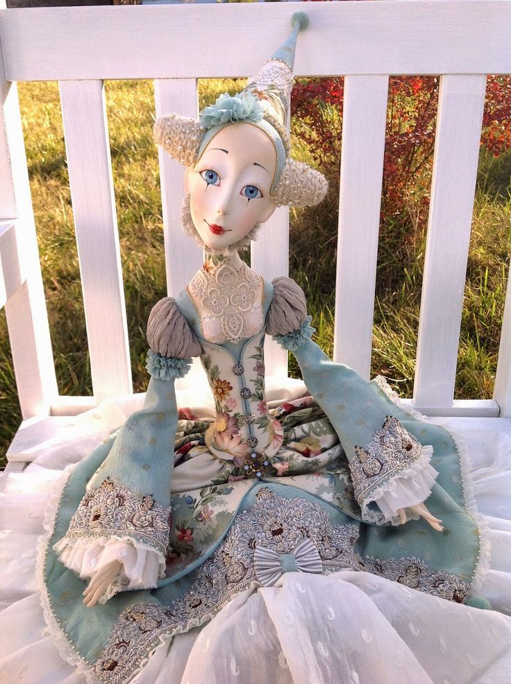 Doll Taller ANNADAN: Angela muñeca budurnaya completamente móvil.