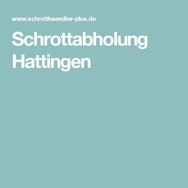 Schrottabholung Hattingen