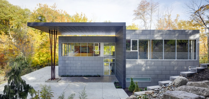 11 best architecture the zinc house by quest modern for Modern zinc houses