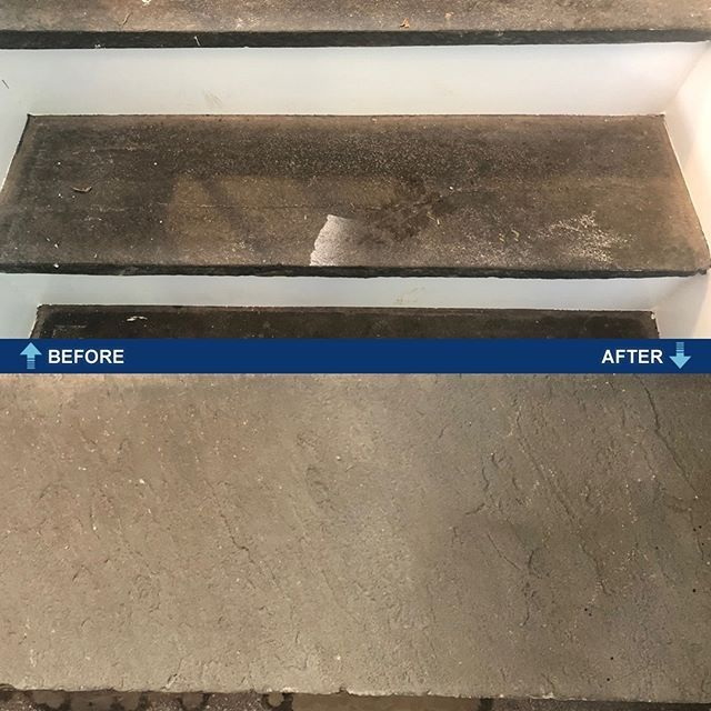 Sometimes Cleaning Chemicals Arent Enough You Need Power Torque And Weight These Steps Were Cleaned With A 10 Floor Cleaner Floor Maintenance Mirror Cleaner