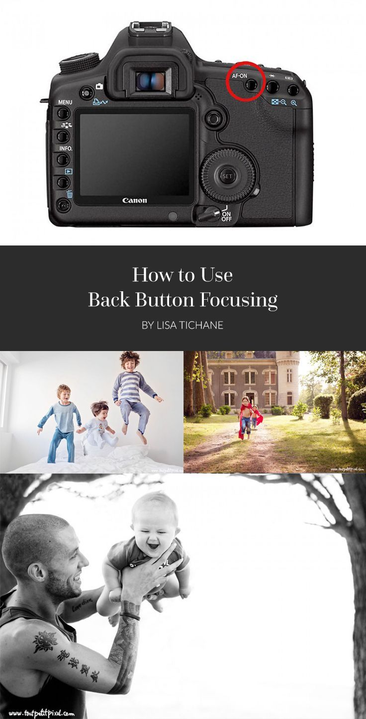 Photography Tips | How to Use Back Button Focusing