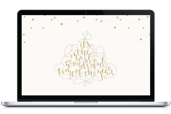 Christmas Desktop Wallpaper - By Saffron Avenue : Saffron Avenue