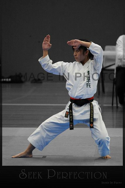 https://flic.kr/p/6eKpav | Kata Perfection - JKA Karate | JKA Karate. Australian National Titles, Gold Coast, Queensland. Heian Yondan and a very nice Kokutsu Duchi.