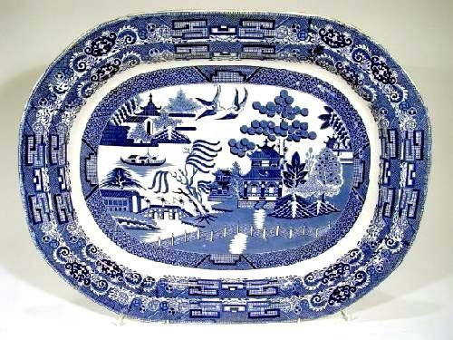 Blue Willow Pattern Dishes This Has Been In Continual Production By Diffe Companies For More Than 200 Years Since It Wa
