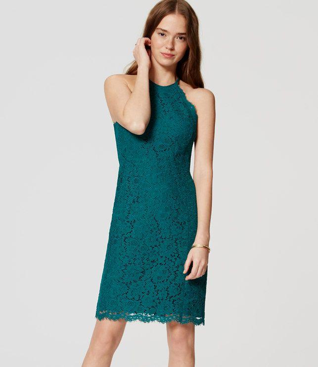 LOFT lace halter dress. FW16. OP 98. LSP 59.
