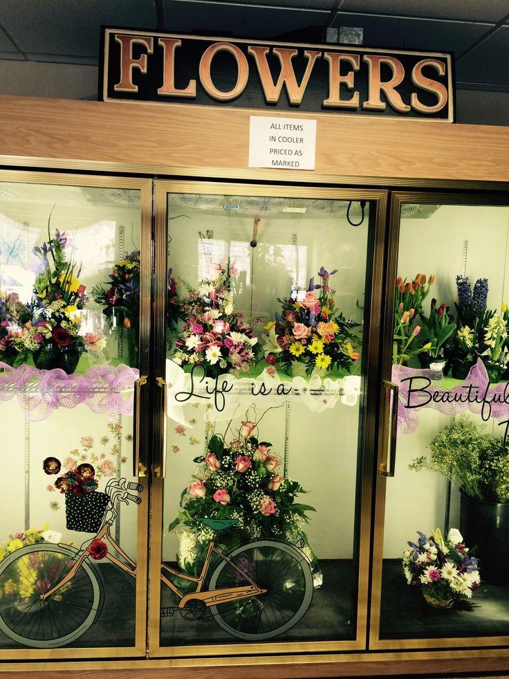 Beautiful Cooler Display Norwin Floral Shop