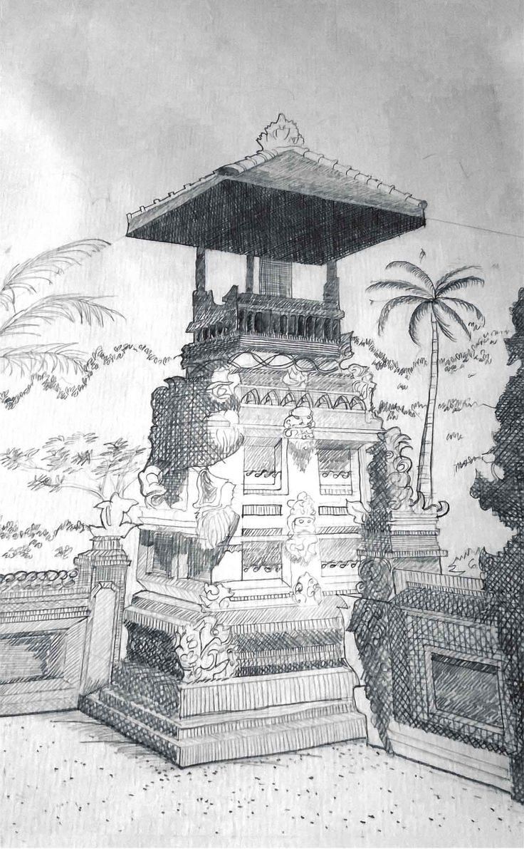 Redrawing of The Temple
