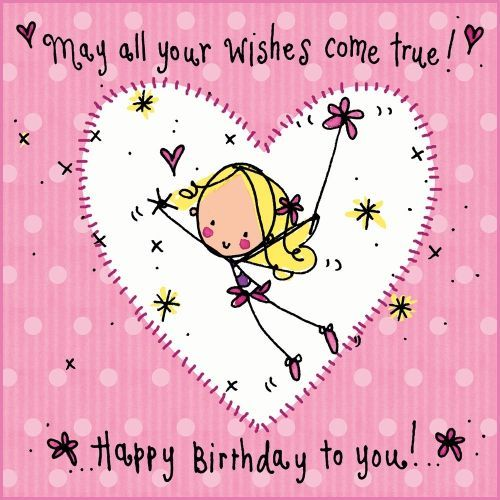 Happy Birthday Quotes For Special Girl: Happy Birthday Messages For Girls - Google Search
