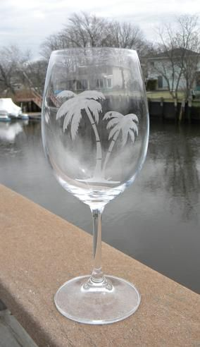 How to make easy DIY Etched Wine Glasses