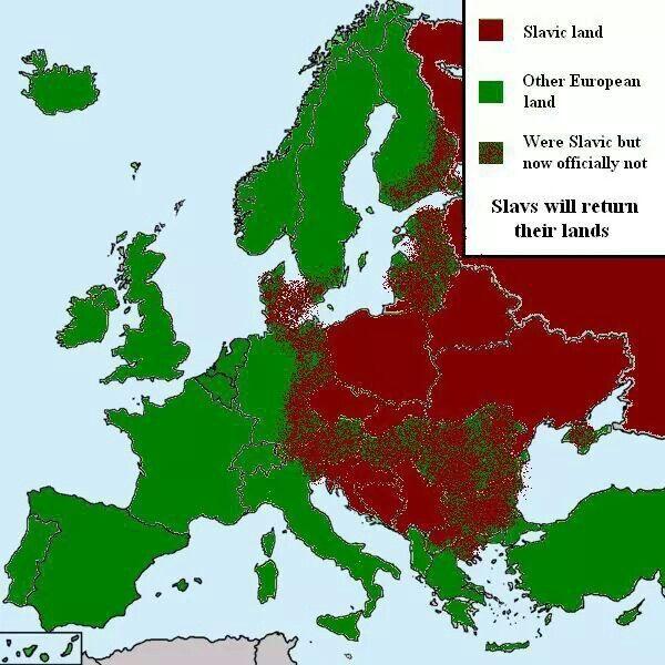 Slavic Land  Slavic mean Glory in Latin Slavic mean Sarmatians