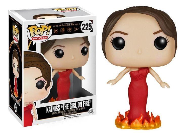 Funko Pop Jogos Vorazes ( Hunger Games ) Katniss , Effie Trinket , Peeta , Presidente Snow vendo - Mania Pop