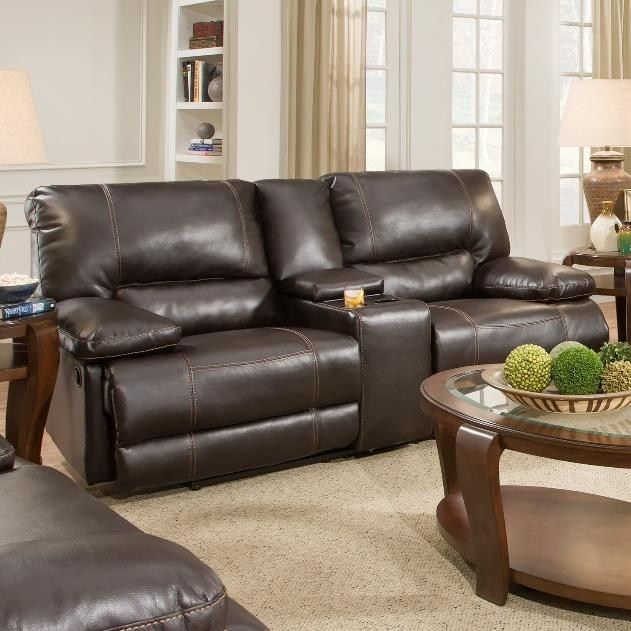 Comfortable Family Room Furniture Part - 23: It Is Covered In A Comfortable Brown Upholstery And Has Soft Cushions For  Sinking Into. This Affordably Priced Sofa Will Give Your Living Room Or  Family ...