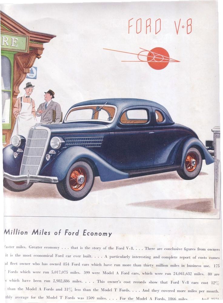 53 best Vintage Ford Ads images on Pinterest | Car advertising, Cars ...