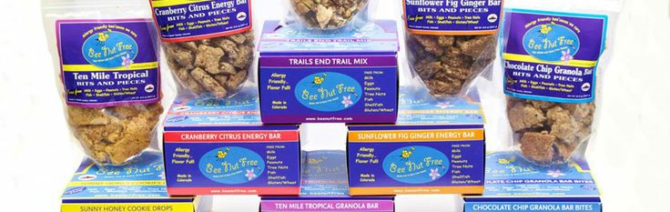 Bee Nut Free allergy friendly snacks come in individual bars or bulk bags of your favorite flavors.