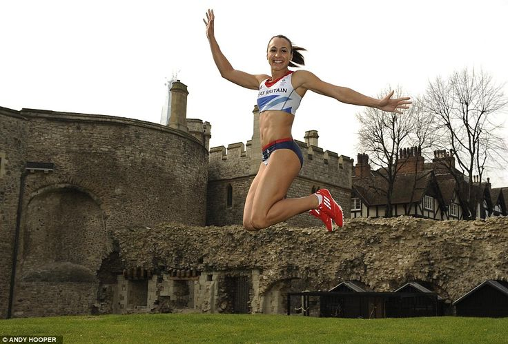 Jess Ennis in the new Team GB kit