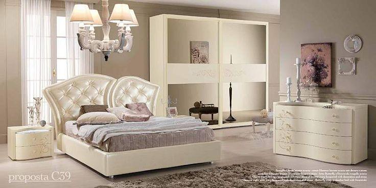 Camera da letto classica PRESTIGE C39