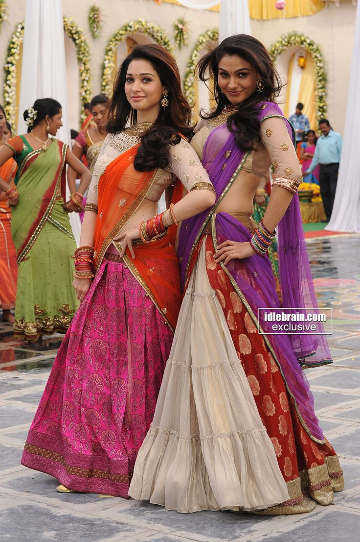 Pretty girls Tamanna and Andrea.