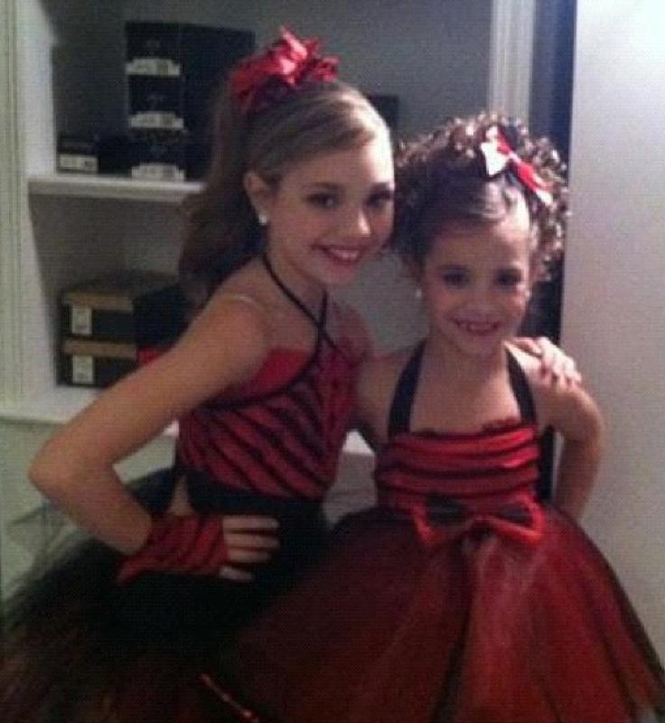 Maddie and Mackenzie Ziegler | dance moms
