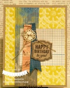 Soho Subway DSP & Label Love Stamp Set!  Dawn Bourgette, Dawn's Creative Chalet
