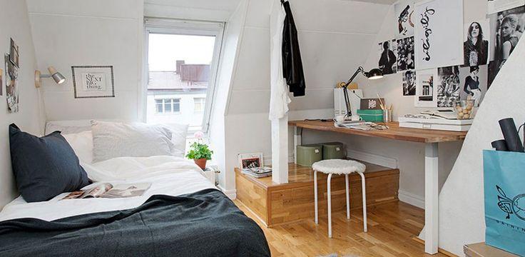 Sabah daha havadar ve geniş bir odada uyanmak isterseniz yatak odanızda uygulamanız gereken bazı dekorasyon kuralları var.