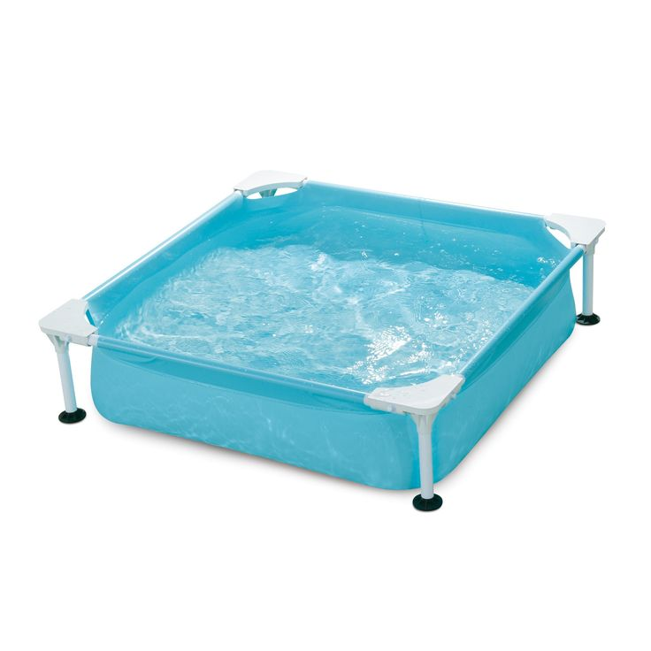 Polygroup Small Square Frame Kiddie Pool
