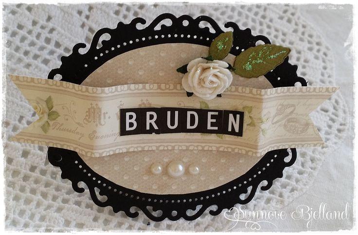 Bordkort til bryllup :)