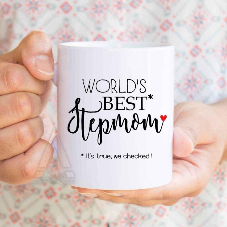Mothers day gift stepmom worlds best stepmom funny