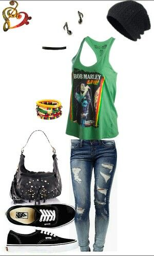 Concert outfit Reggae (I would wear this to school tbh)