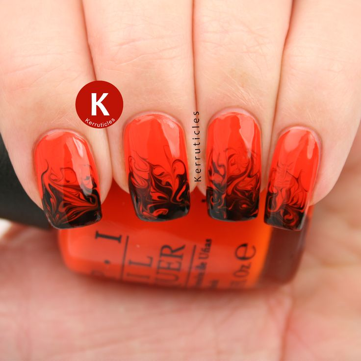 My 24 favourite nail art manicures of 2014 | Kerruticles - Best 25+ Flame Nail Art Ideas On Pinterest Rock Nails, Fun Nails