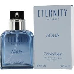 Eternity Aqua By Calvin Klein Aftershave Balm 3.4 Oz