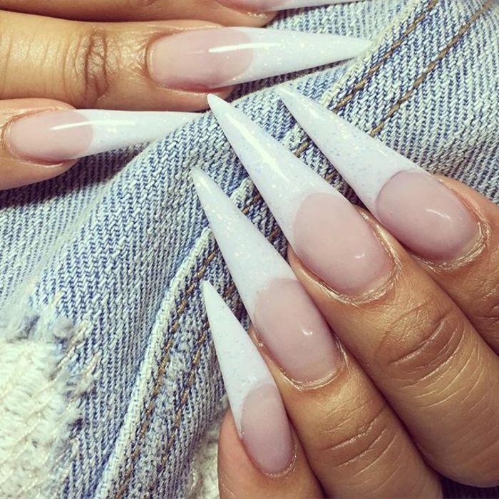 Populaire Oltre 25 idee di tendenza per Smalto per unghie bianco su  ZI31