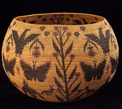Native American Indian Baskets are a Popular Native Craft