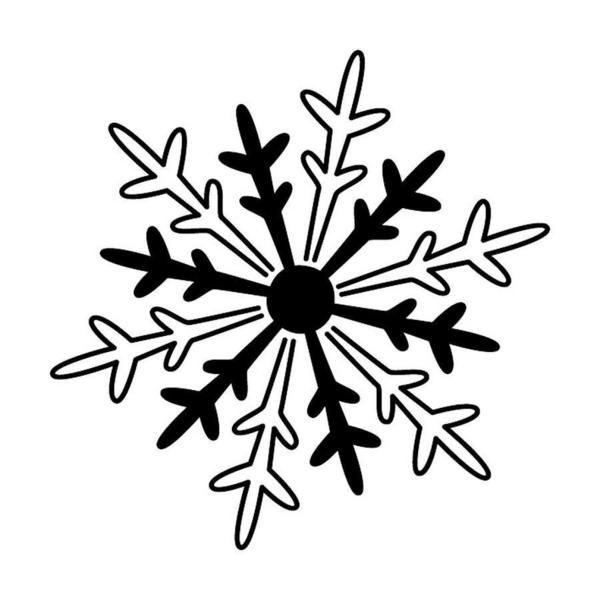 """Stempel Holz """"Eiskristall"""" - klein von ninaKrea auf DaWanda.com"""