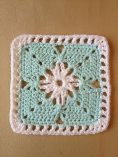 Simple effect using chain stitch ~ free pattern