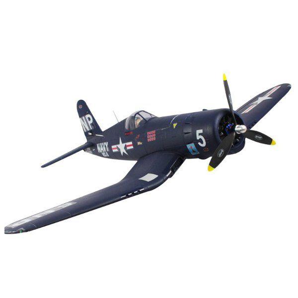 Upgraded Dynam F4U Corsair 1270mm 50inch Wingspan RC Warbird PNP