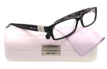 JIMMY CHOO Eyeglasses 41 0AXT Black 53MM Jimmy Choo. $155.80