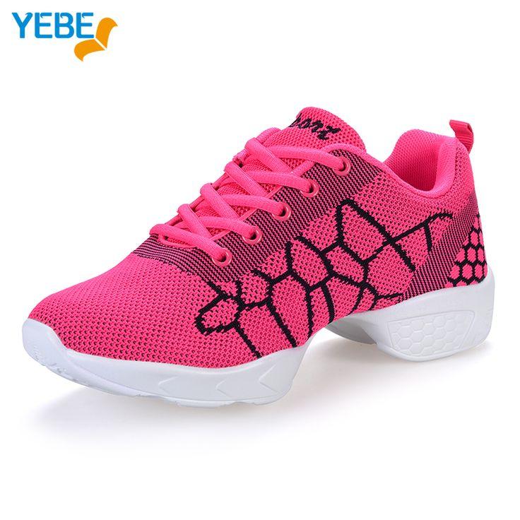 ==> [Free Shipping] Buy Best YEBE New Salsa Dance shoes women Jazz Hip Hop Shoe Ballet sneakers for woman platform Latin dancing ladies Zapatillas Deporte Online with LOWEST Price   32809506285