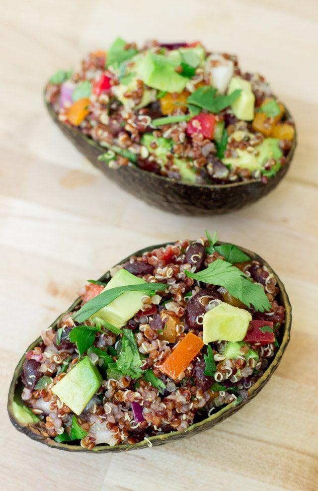 Tex-Mex Quinoa Salad with Cumin Lime Vinaigrette