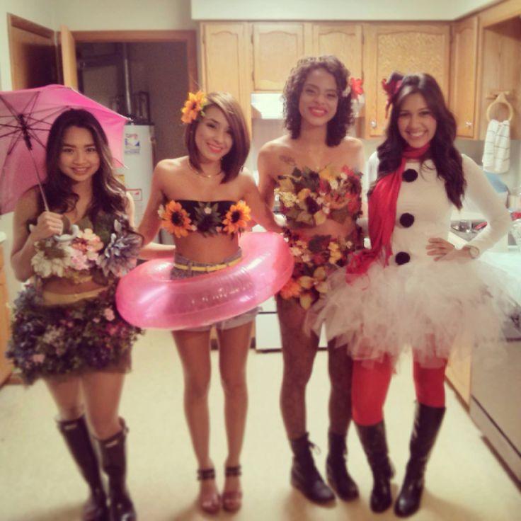 Four seasons DIY costume